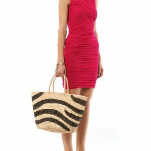 NWT $225 DIANE VON FURSTENBERG Angelina dress pink